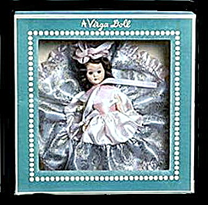 "1950s 491 Virga ""Rosemary"" Doll in Box (Image1)"