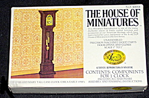 House of Miniatures Grandfather Clock MIB  (Image1)