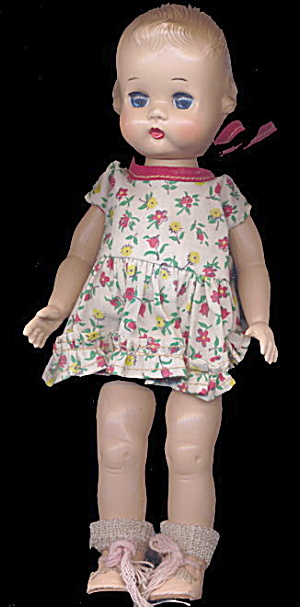 "1951-1955 Ideal 9"" Lolly or Tiny Girl Doll (Image1)"