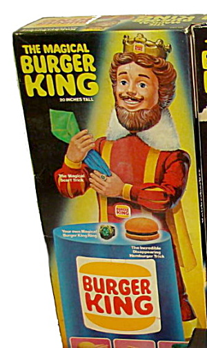 1980 Knickerbocker Magical Burger King Doll in Box (Image1)