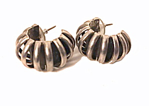 Mexico Sterling Silver .925 70-51 Earrings