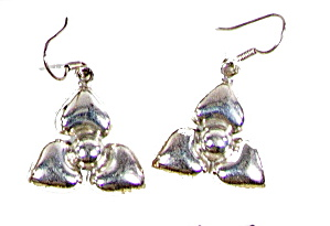 Mexico Sterling Silver .925 10-29 Hearts Earrings