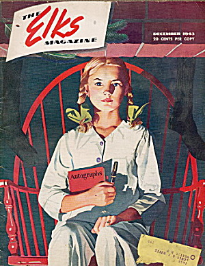 """the Elks"" Magazine December 1943"