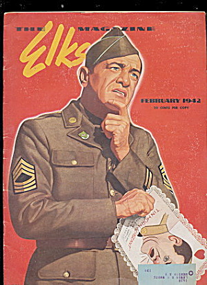 """the Elks"" Magazine February 1942"