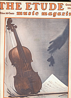 """The Etude"" Music Magazine - Oct 1948 (Image1)"
