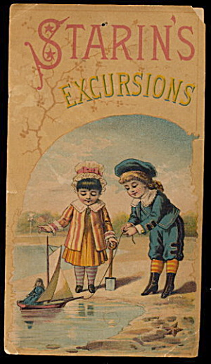 1905 Starin's Excursions Of Glen Island