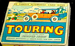 1920s Touring Automobile Card Game - Parker Bros (Image1)