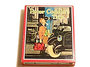 'peter Coddle's Trip' Milton Bradley 1930s Card Game