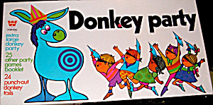 "1969 Whitman ""donkey Party"" Game"