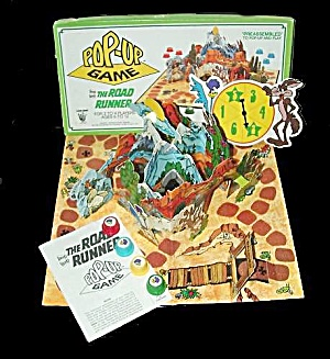 1982 Road Runner Pop-up Board Game - Classic