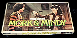 "1979 ""mork & Mindy"" Tv Show Board Game"