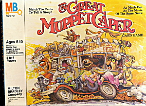 1981 The Great Muppet Caper Card Game (Image1)