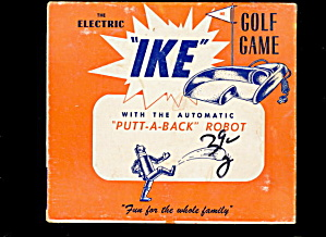 """ike"" Electric Golf Game - 1940s"