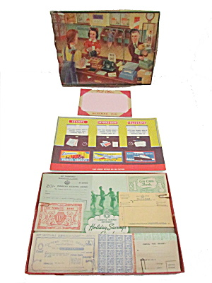 "1940s ""post Office"" Game - Berwick Toy"