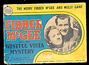 1940 Fibber Mcgee & Molly Wistful Vista Game
