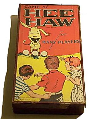"1936 ""Hee Haw"" Milton Bradley Game (Image1)"