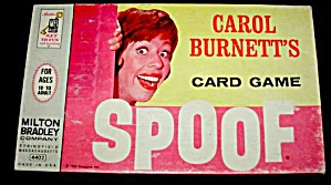 1964 Carol Brunette 'spoof' Milton Bradley Card Game
