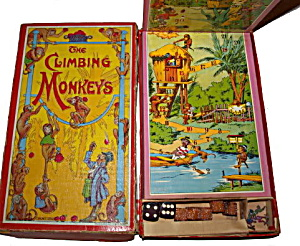 Early 1900s Spear's 'The Climbing Monkeys' Game (Image1)