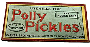 1921 Polly Pickles - Utensils For The Movie Game