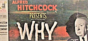 1958 Milton Bradley Alfred Hitchcock Presents Why? Game