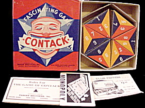 "1939 ""Contack"" Game - Parker Bros (Image1)"