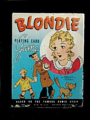 1941 Whitman Blondie Playing Cards Game