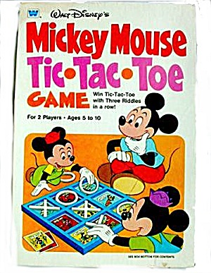 1977 Mickey Mouse Tic-Tac-Toe Game (Image1)