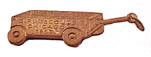 1967 Girl Scout Chicago Cookie Wagon Charm (Image1)