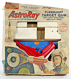 1940s-1950s AstroRay Target Gun in Original Box (Image1)