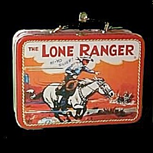 Hallmark 'Lone Ranger' Lunchbox Keepsake Ornament (Image1)