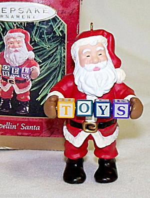 "Hallmark ""Spellin Santa"" Keepsake Ornament (Image1)"