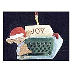 "Hallmark ""Type of Joy"" Mouse 1990 Ornament (Image1)"