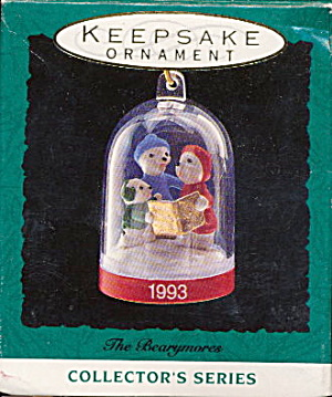 "Hallmark ""The Bearymores"" 1993 Ornament (Image1)"