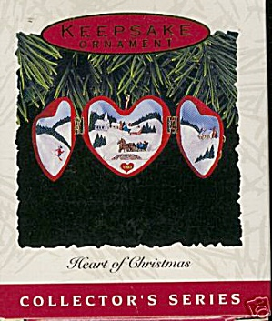 "Hallmark 1993 ""Heart of Christmas"" Ornament (Image1)"