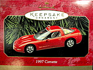 Hallmark Keepsake 1997 Corvette Car Ornament (Image1)