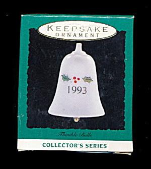 Hallmark Keepsake 1993 Holly Bell Ornament (Image1)