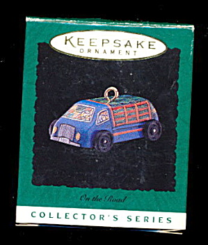 Hallmark Keepsake 1996  'On the Road' Truck Ornament (Image1)