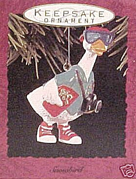 Hallmark Keepsake 1993 'The Snowbird' Ornament (Image1)