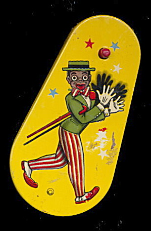 1920s Black Americana Tin Noise Maker (Image1)