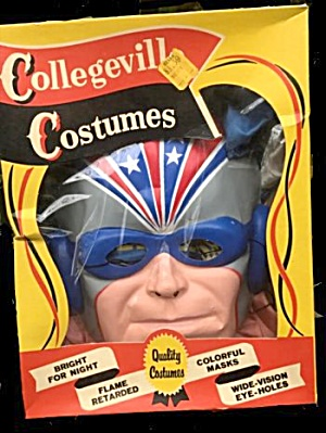 Collegeville Captain America Halloween Costume In Box