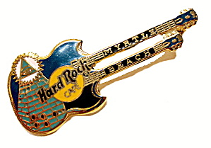 Hard Rock Cafe Myrtle Beach Guitar Pin (Image1)