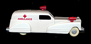 Hard Plastic Binary Arts Ambulance