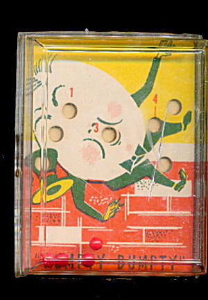 1960 Humpty Dumpty Skill Ball Game
