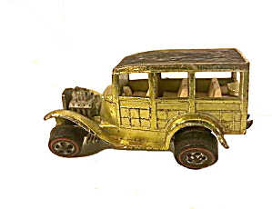 1968 Redline Hot Wheels '31 Anti-freeze Green Woody
