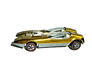 1968 Hot Wheels Redline Gold Splittin Image