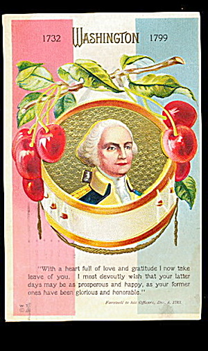 1907 George Washington & Mt. Vernon Postcard