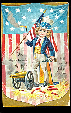 Tucks Independence Day Series 1908 Postcard