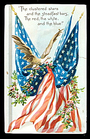 1907 Tucks Decoration Day Postcard