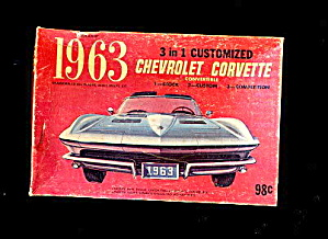 1963 Palmer 3 In 1 Customized Corvette Kit Box
