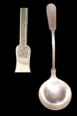 Bailey Banks & Biddle Silverplate Soup Ladle (Image1)